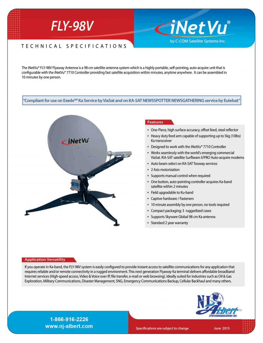 fly-98v specs page 1 tp